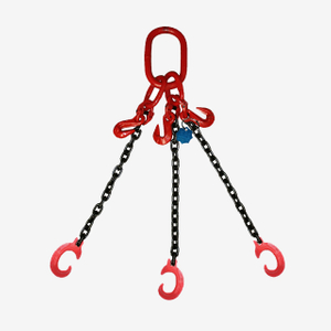 3&4 Legs Lifting Chain Sling - Clevis C Hook - G80