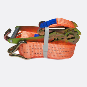 50mm 4T Cargo Lashing Ratchet Strap Double J hook