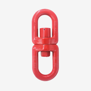 G80 Alloy Steel Forged Swivels With Bearing Screw Ring